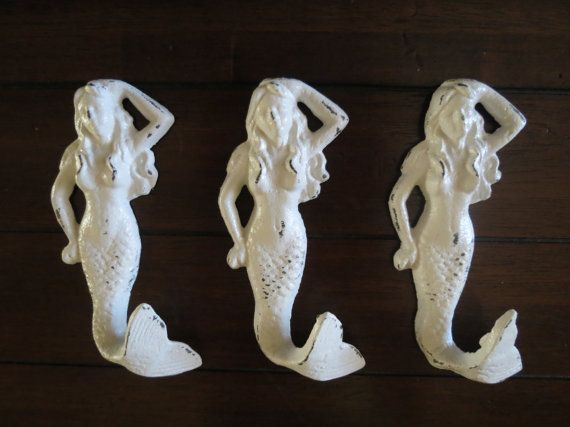 Mermaid Hooks For Bathroom
