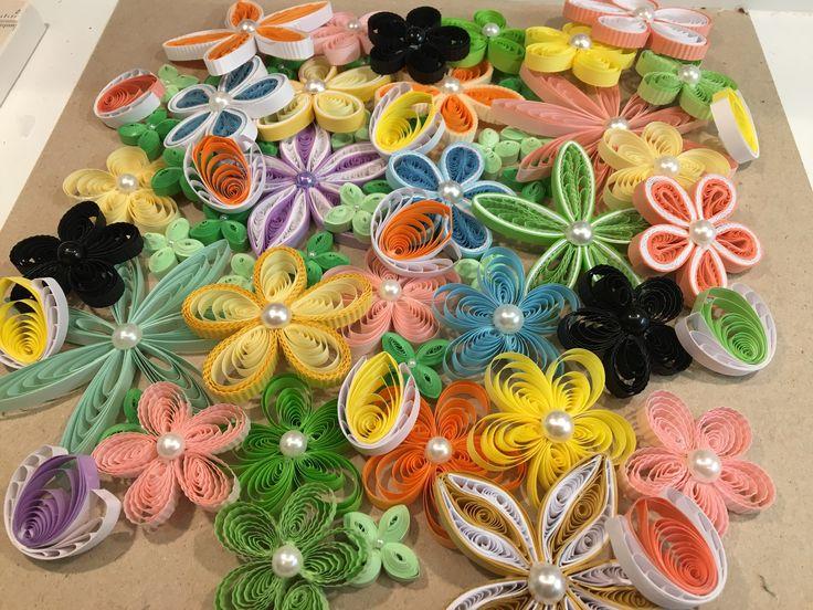 Quillede blomster