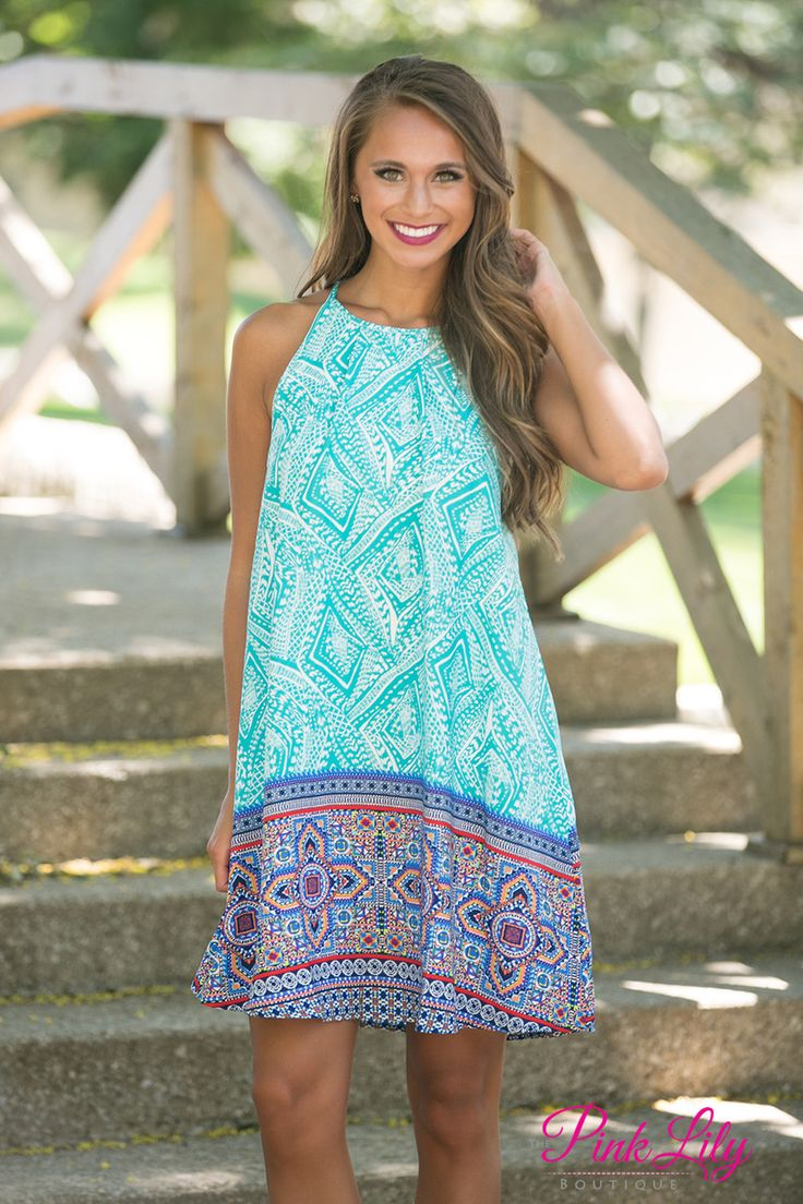 Drifting On A Dream Dress - The Pink Lily Boutique