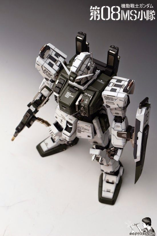 1/60 RX-79[G] Gundam Ground Type [Conversion Kit] - Painted Build Modeled by Seoyahooya