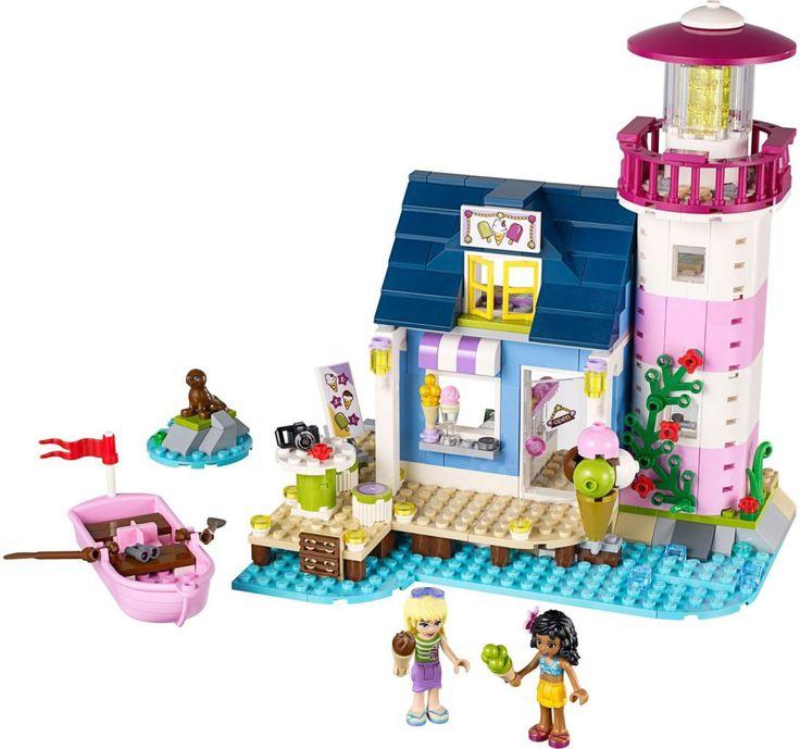De LEGO Friends Stephanie en Kate hebben een dag vrij. Wat ze doen? Naar de LEGO Heartlake Vuurtoren natuurlijk. Kate heeft daar een ijswinkel. Vanuit het vaste land nemen ze de roeiboot. Onderweg zien ze vanuit hun verrekijker een zeehond dobberen, prachtig! Aangekomen bij de vuurtoren, wast Stephanie eerst haar handen in de badkamer. Maar hée, wat is dat?  De leukste LEGO koop je bij https://www.olgo.nl/lego/friends.html
