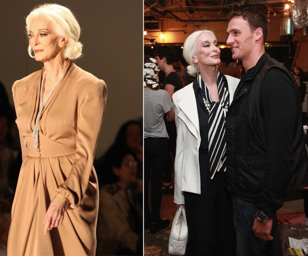 More Gorgeous With Age: 81 Year Old Model Carmen Dell'Orefice, Rocks Runway (And Hangs With Ryan Lochte!) | StyleBlazer