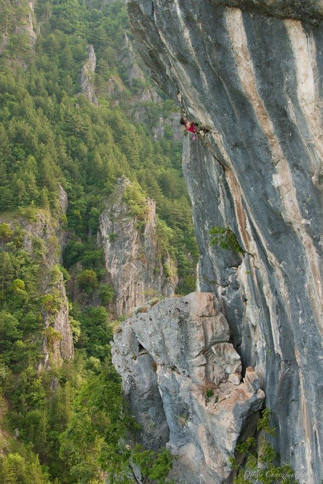 Climbing at Aridaia - Pella Regional Unit - Greece