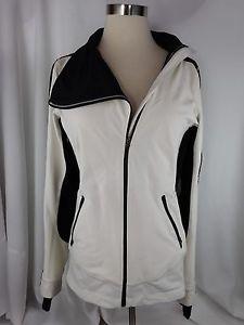 Lululemon Draft Dodger Jacket 6 Coat Polar Cream Black Laceoflage RARE Nice   eBay