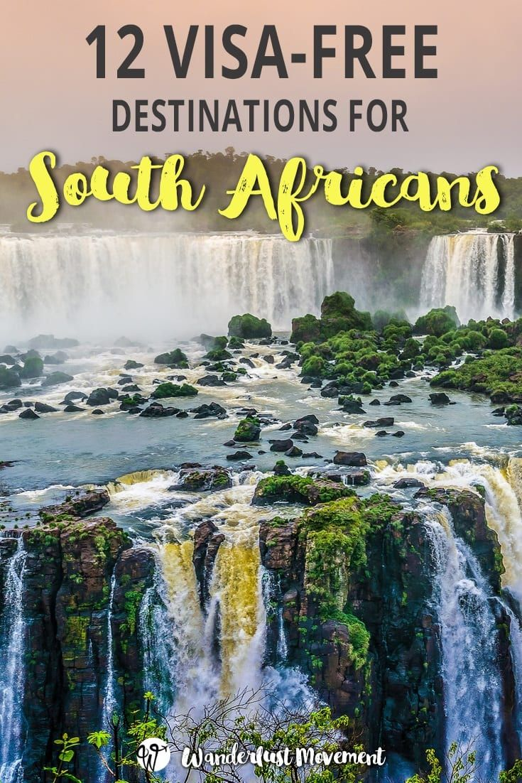 12 Best Visa-Free Countries for South Africans to Visit in
