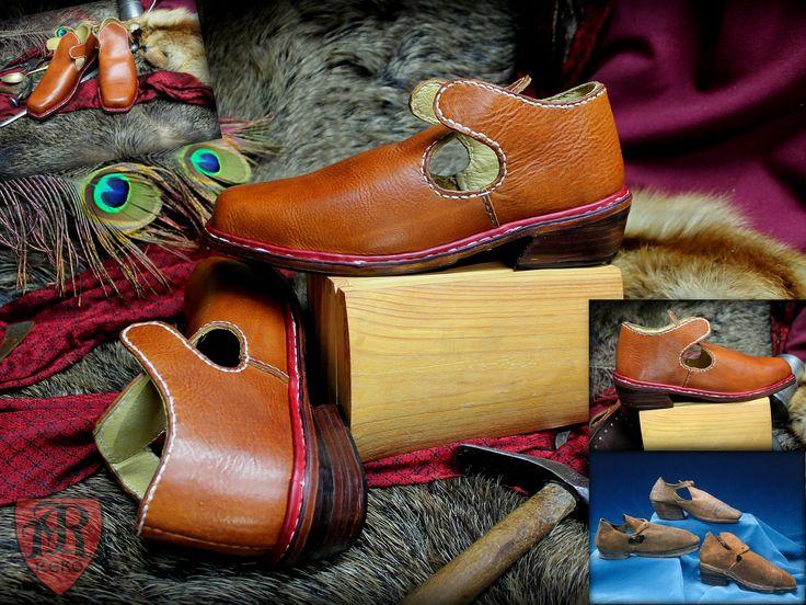 Shoes 17th century made by Pracownia REKO www.facebook.com/pkk.reko