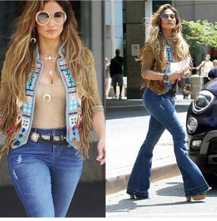 J. Lo ... Happy to see flared jeans are coming back. | J. LO ...