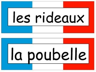 french-classroom-objects-labels by Gillotts MFL via Slideshare