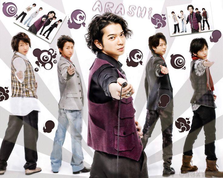Jun Matsumoto, often called by the portmanteau nickname MatsuJun, is a Japanese idol, singer, actor, and radio host. He is a member of Japanese boy band Arashi.