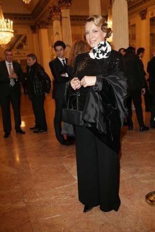 Striped camelia   - La Traviata - December 7th - Opening night 2013/14 season