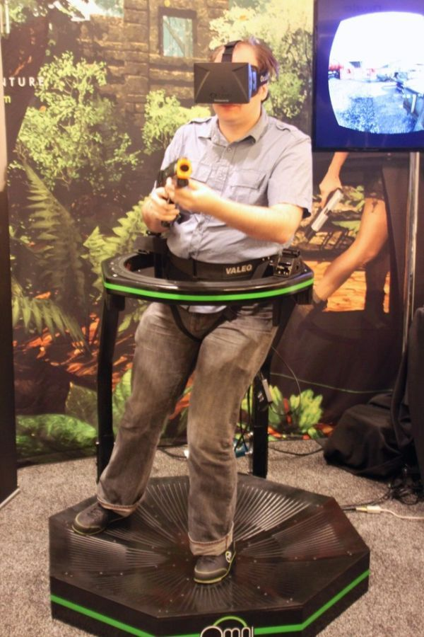Omni gaming harness uses capacitive sensors for mapping your motion