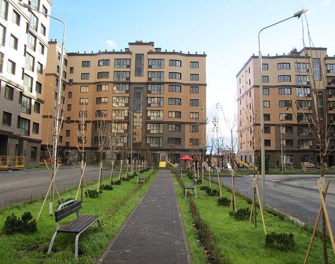 ЖК Дубровка Внутренний двор