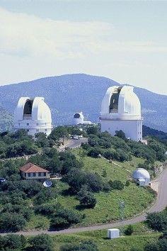 McDonald Observatory near Marfa and Big Bend.