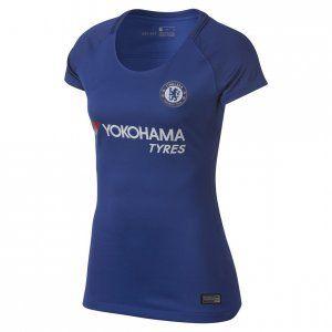 2017 Cheap Women Jersey Chelsea FC Home Replica Blue Shirt [AFC610]