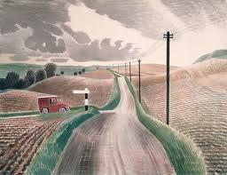 Eric Ravillious - Wiltshire Landscape