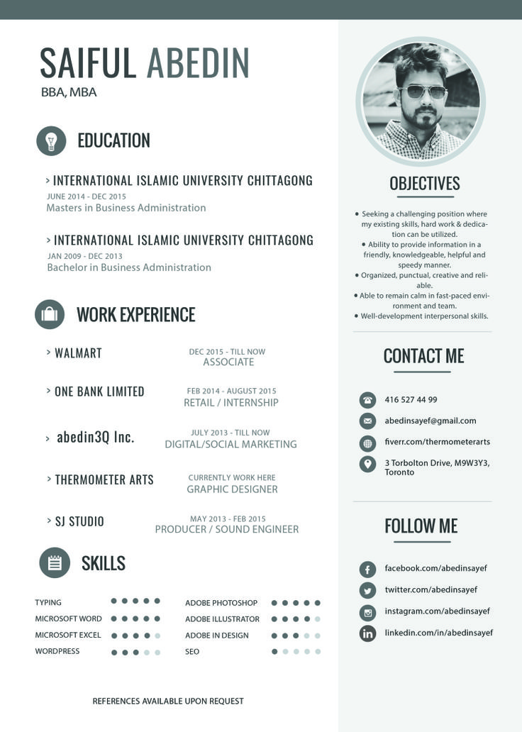17 best Resumes with Photos images on Pinterest Cover letter - google resume maker