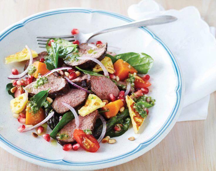 Balsamic Glazed Lamb Salad