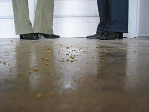 How to Clean Acid Stained Concrete Floor. Finally!! I've been looking forever for directions!
