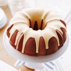 Gâteau-beigne géant à l'érable