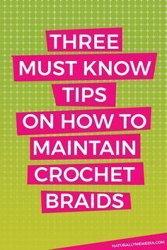 How to Maintain Crochet Braids Crochet braids have quickly become one the go-to protective styles in the natural hair community. Whether styled straight or curly, this styling option offers a huge amount of versatility as well as a very natural-looking end result. Once you install them, you may realize that caring for your crochet braids …Continue Reading