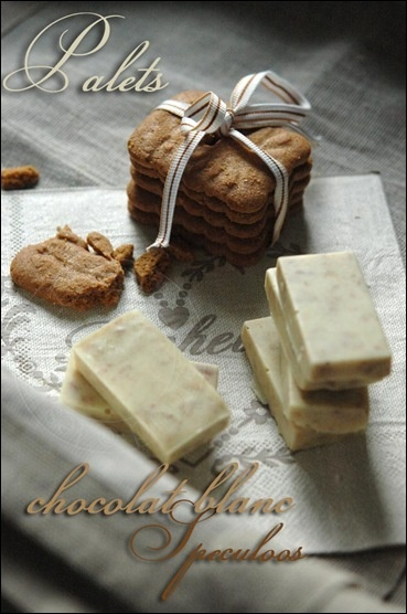 Palets choco blanc speculoos