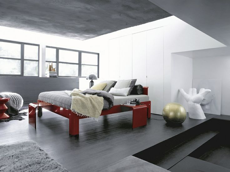 17 beste idee n over moderne slaapkamers op pinterest modern slaapkamer interieur en luxe for Moderne meid slaapkamer