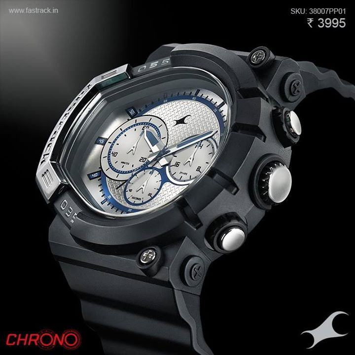 Be the master of your timeline. #Chrono www.fastrack.in/chronograph/