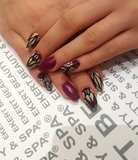 Art manicure, shellac, vinylux, colorful. Perfect nails ornament.  #ekert #nails