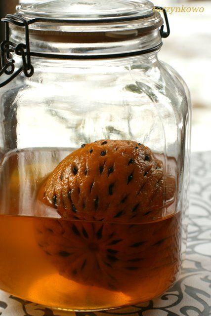 tarzynkowo: Likier pomarańczowo - kawowy