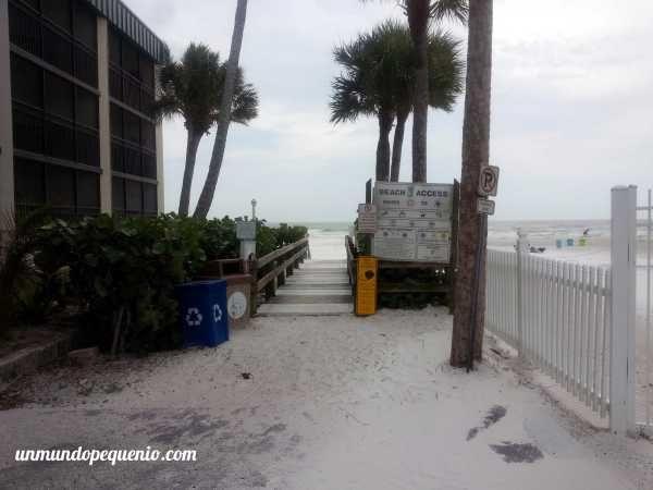 Acceso a Fort Myers beach #Florida # USA