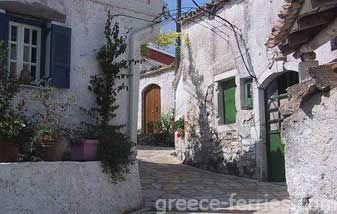 Amfionas Corfu Eiland, Ionische Eilanden, Griekenland