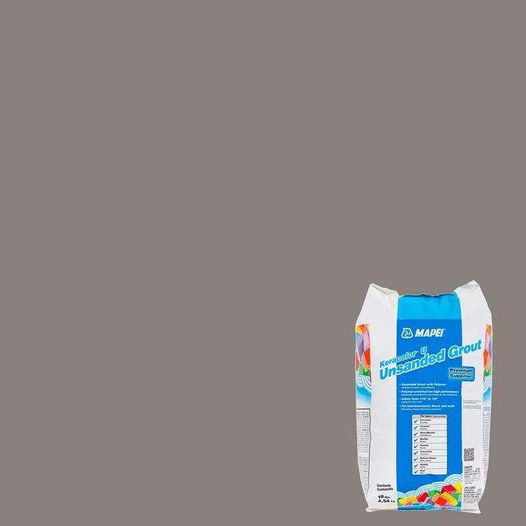 Mapei 02 Pewter KeraColor Unsanded Grout - 10lb. - 100036003   Floor and Decor