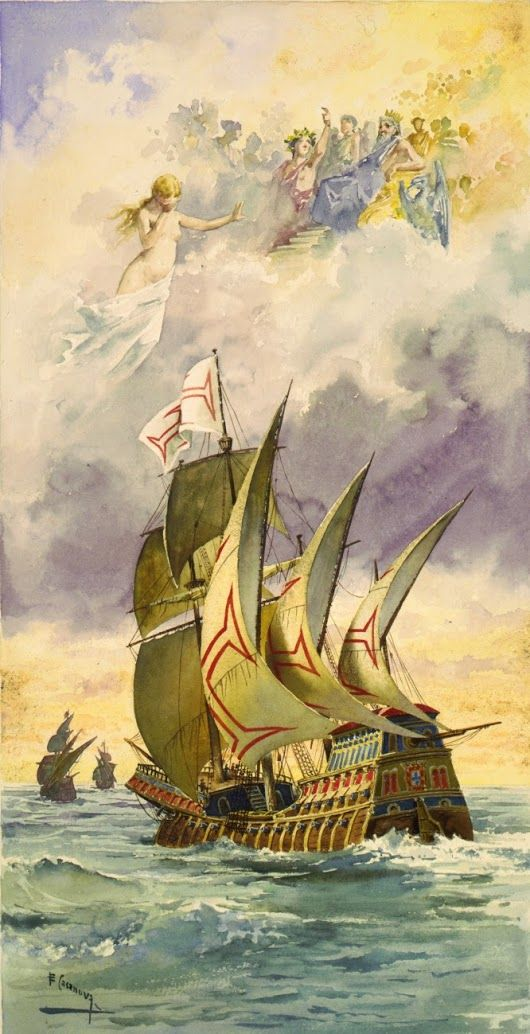 "#onthisday  in 1497, Vasco da Gama rounded the Cape of Good Hope and became the first European to sail the Indian Ocean.  ""Let Fame with wonder name the... - Dirk Puehl - Google+"