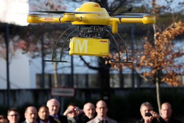 Deutsche Post DHL Uji Drone untuk Kirim Paket