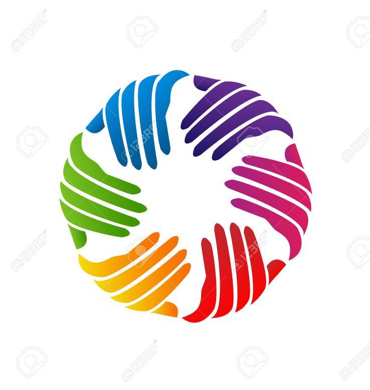 17 Best images about Hands teamwork logo vector on Pinterest ...