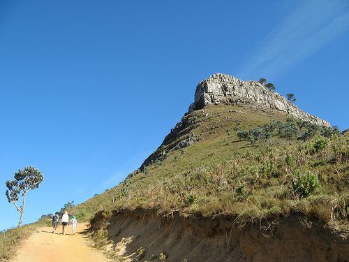 lion's head hike. signal hill. cape town. south africa.