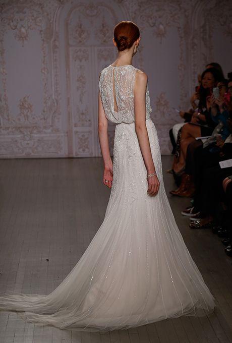 Brides.com: . Wedding dress by Monique Lhuillier