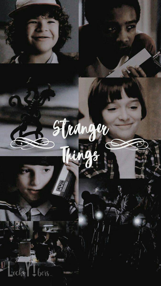 Stranger Things Mike Wheeler Dustin Henderson Lucas Sinclair
