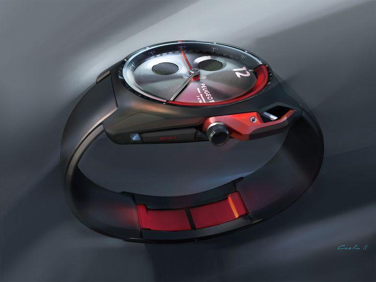 Peugeot Concept Watch Sketch