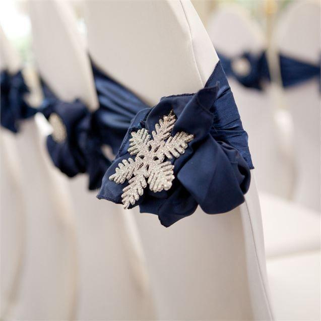Katrina & Nader's Real Wedding - Winter Wedding Ceremony