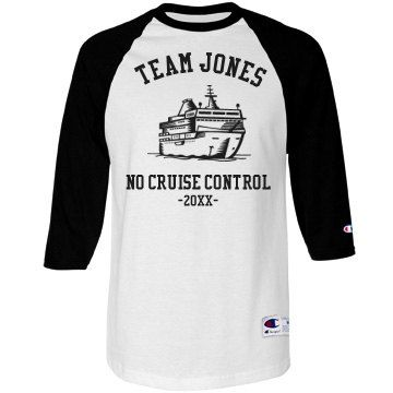 Team Jones Cruise | Taking a family or group cruise is always fun, so customize t-shirts for the whole gang! It will be fun and also safe, helping the group stay together.