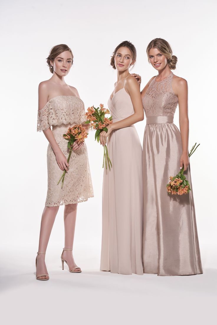 69 best rustic green neutrals images on pinterest marriage jasmine bridesmaids spring 2017 mix and match bridesmaids bridal party simple bridesmaid dresses ombrellifo Gallery