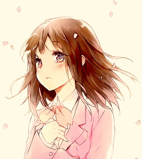 Anime Characters With Brown Hair : Best images about anime girls brown hair on pinterest
