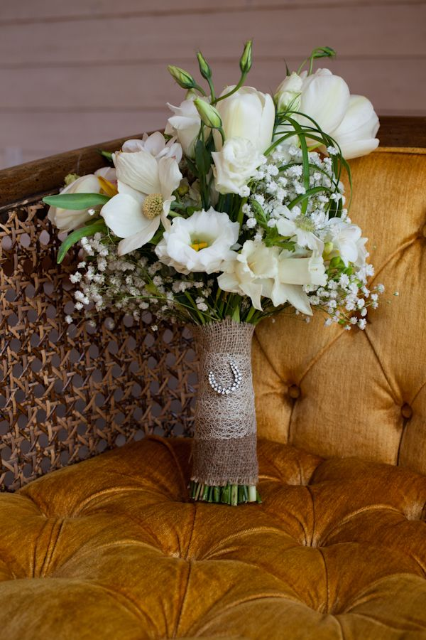 Rustic Wedding Bouquet @WeddingChicks.
