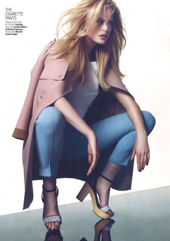 Fashion goes safari in Miss KG 'Penelope'  #AsSeenIn Look Magazine