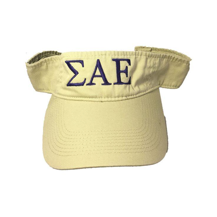 Sigma Alpha Epsilon SAE Fraternity Visor - Brothers and Sisters' Greek Store