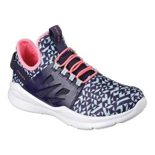 Girls' Skechers Street Squad Geo Crush Sneaker Navy/