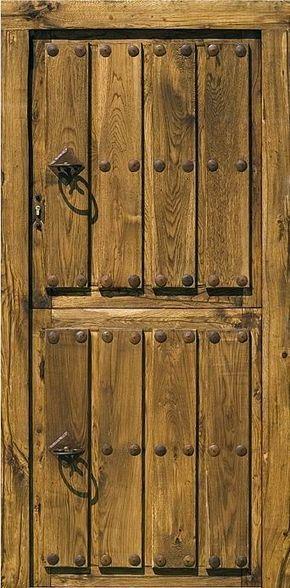 M s de 25 ideas incre bles sobre ventanas r sticas en for Puerta madera rustica