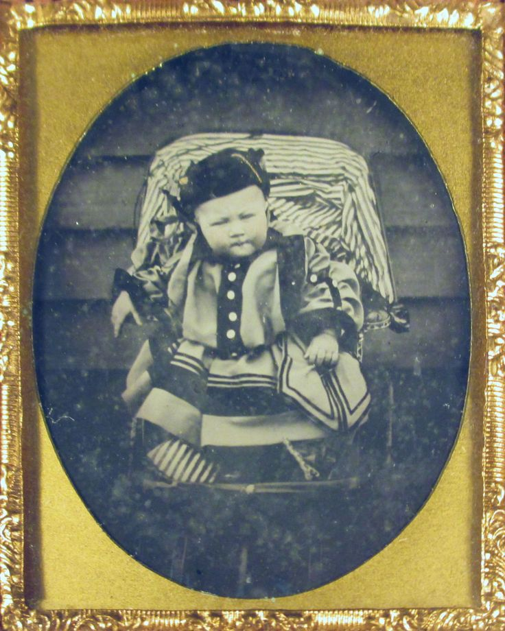 Infant in Interesting Ethnic Outfit Ambrotype | eBay