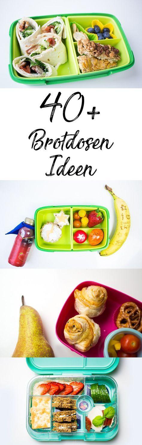 Brotdose für Kinder: über 40 Ideen und Rezepte